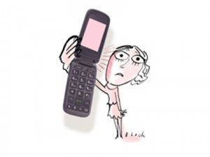 Аллергия на сотовый телефон!
